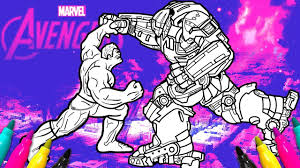 Created by writer stan lee and artist jack kirby, the character first appeared in the debut issue of the incredible hulk (may 1962). Avengers Hulk Smash Up Hulkbuster Iron Man Coloring Book Marvel Super Hero Youtube
