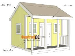 playhouse plans trim