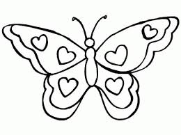 picture of a butterfly to colour.  Butterfly Enormous Butterfly Picture To Colour Powerful Pictures Of Butterflies  Color For Kids A M