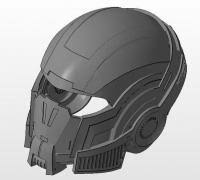 """<b>mass effect n7</b> helmet"" 3D Models to Print - yeggi"