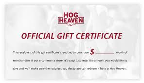 Arkansas Razorbacks Online Gift Certificate Arkansas