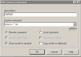 02 Winscp Usage Performing Common Tasks Creating Torrents Unrar ...