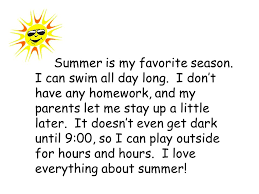 my favorite season essay my favorite season essay