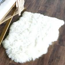 furry white rug ikea faux sheepskin rugs