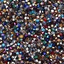 <b>100pcs 4mm</b> Mixed color Bicone <b>Austria</b> Crystal Beads charm Glass ...