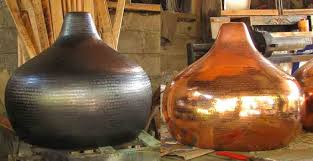 hammered copper lighting. hammered copper lighting m