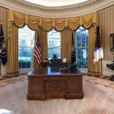 the white house oval office. Oval Office. Image May Contain: Indoor Office O The White House E