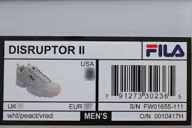 Fila Footwear Size Chart Sale Up To 66 Discounts