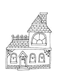 Kleurplaat Huis Peuters