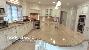 Colonial Gold Granite Kitchen Madura Gold Granite With White Cabinets Roselawnlutheran