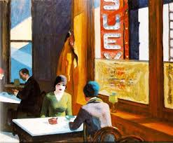 chop suey 1929 by edward hopper social realism genre painting private collection