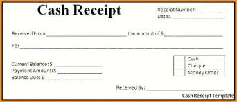 Fees Receipt Format Cash Receipt Format In Word Payment Template