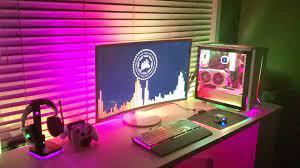 Icue & wallpaperengine Audio Visualizer ...