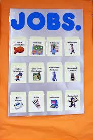 Preschool Classroom Jobs Free Printables