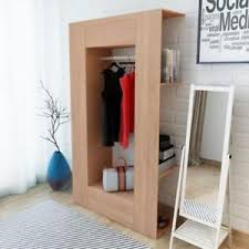 furniture for hanging clothes. Image Is Loading Modern-Wardrobe-Open-Space-Furniture-Shelves-Hanging-Rail- Furniture For Hanging Clothes