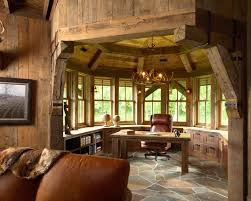 traditional office design. High Croft Hunting Barn Interior Ideas Design For Traditional Home Office