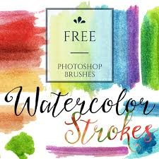 Free Watercolor Brushes Illustrator Pin By Art Inspire Studio On Digital Design Team Freebies