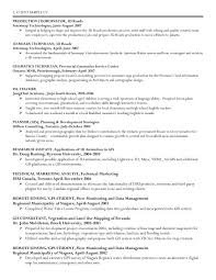 Gis Geographic Information System Specialist Resume Resume Template