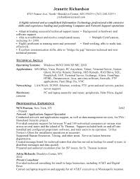Application Support Engineer Resume Sample