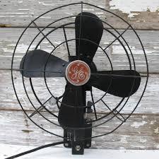 decorative wall mounted oscillating fans elegant vintage ge fan wall mounted black