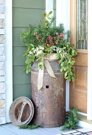country outdoor decor awesome to do rustic outdoor decor old rusty milk jug turned into a country outdoor decor