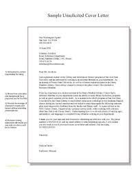 Cover Letter For Resume Sample Free Download And Unsolicited