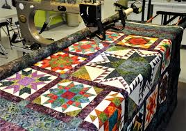 Longarm Quilting Services - Quilted Treasures & This convenient service provides our customers with. Edge to Edge Machine  Quilting Adamdwight.com