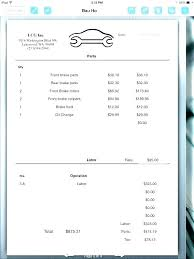 car service receipt free auto repair invoice form luxury car service receipt template