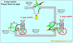 3 way switch wiring diagram house electrical wiring diagram 3 way switch light wiring diagram 3 way light switch wiring diagram poower source feed via light