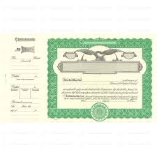 Form Of Share Certificate Shop For Goes 509 Corporate Stock Certificate Form Online