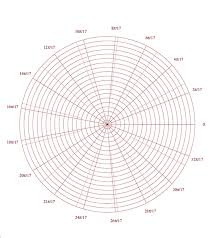 5 Free Polar Graph Paper Printable Templates Free Graph