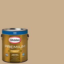 glidden premium 1 gal hdgo64 satin gold latex exterior paint