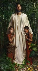 christ in america a copy of this is in the tegucigalpa honduras lds temple jeff hein s portfolio painting history scripture