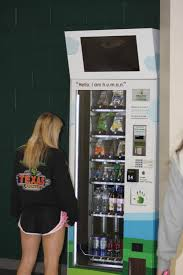 Healthy Choice Vending Machines Classy Robot Or Human Vending Machine Brings New Healthy Choices The