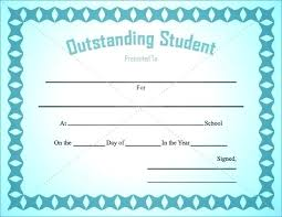Free Award Certificate Templates For Students Free Blank Printable Certificates Image Downloadable Award