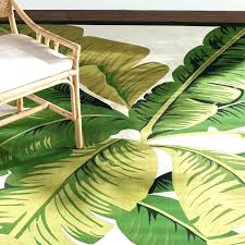 palm leaf area rugs outdoor rugs with palm leaves palm lily hunter green ivory indoor outdoor