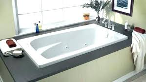 standard freestanding tub installation american cadet instructions tubs bathtub corner decor references