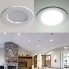 8w 3 5 inch 400lm led recessed lighting daylight white led downlights pack of 4 units le