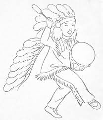 Coloring Pages Native Americanloring Pages Little Indians Tolor