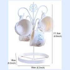 Tea Cup Display Stand Unique Hot 3232'' Coffee Tea Cup Mug Holder Stand Kitchen Cup Holder 32 Mug