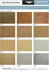 Westcoat Epoxy Color Chart Color Charts Westcoat Specialty Coating Systems