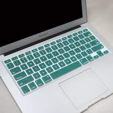 Englisch USA Layout Silikon Tastatur Abdeckung für MacBook Pro 13