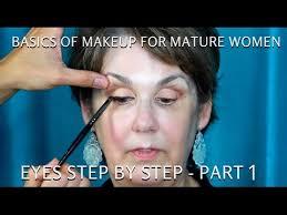 how to do makeup for women over 60 part 1 eyes tutorial mathias4makeup