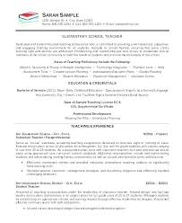 Substitute Teacher Resume Magnificent Sample Resume For Substitute Teacher Sample Resume For Teaching