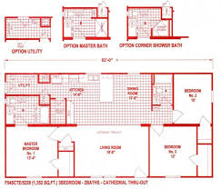 18 wide house plans great 18 foot wide mobile home floor plans