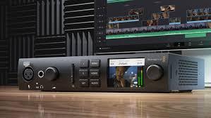Blackmagic Design Sound Blackmagic Surprises With New Ultrastudio 4k Mini Videomaker