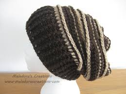 Slouchy Beanie Crochet Pattern For Guys