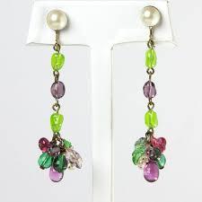 n gl earrings by louis rousselet