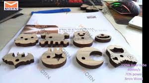 150W <b>Laser Engraving</b> and Cutting Machine Cut 8mm Wood MT ...