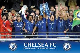 The official instagram account of chelsea football club. Chelsea Fc 2015 Capital One Cup Championship Celebration Commemorative Poster Gb Eye Uk Sports Poster Warehouse